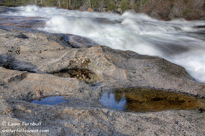 Image 7 of 10<br />Rapids above Bassi Falls