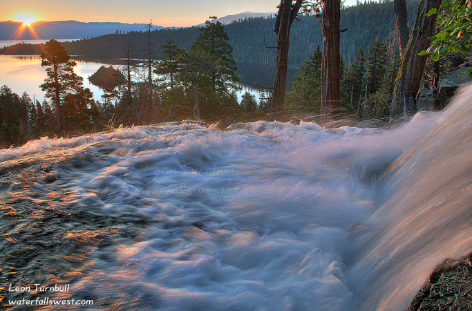 Image 5 of 9<br />The proverbial sunrise shot of Eagle Falls
