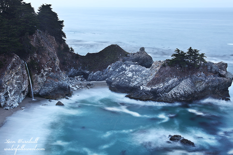 Image 4 of 4<br />Pre-dawn shot of McWay Falls