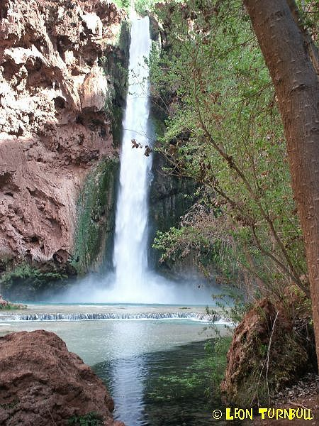 Image 2 of 5<br />At base of Mooney Falls
